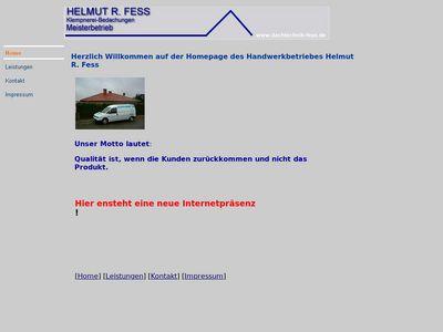 Helmut R. Fess Klempnerei Bedachung
