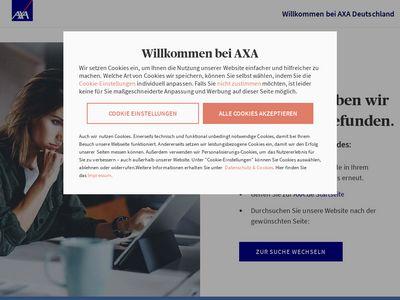 AXA Versicherungen Harald Spyrka