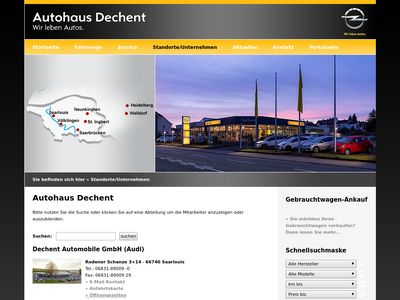 Audi - Dechent Automobile GmbH
