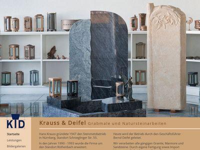 Grabmale Krauss & Deifel
