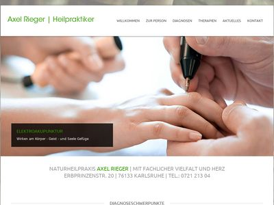 Axel Rieger Heilpraktiker