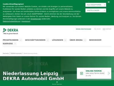DEKRA Automobil Kfz-Prüfstelle Leipzig