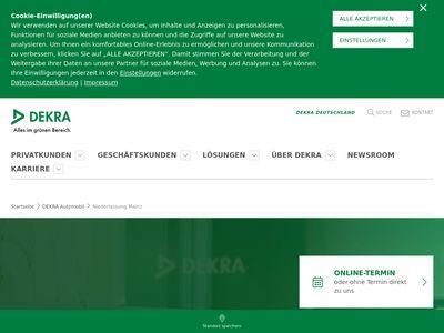 DEKRA Automobil Niederlassung Mainz