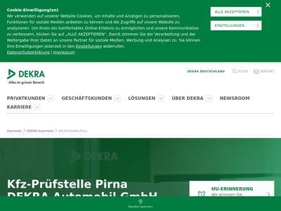 DEKRA Automobil Kfz-Prüfstelle Pirna
