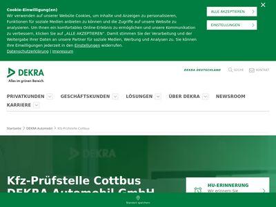 DEKRA Automobil Kfz-Prüfstelle Cottbus