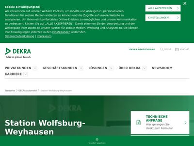 DEKRA Automobil Station Wolfsburg-Wey…