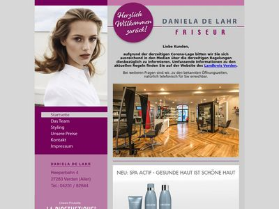Friseur Daniela de Lahr