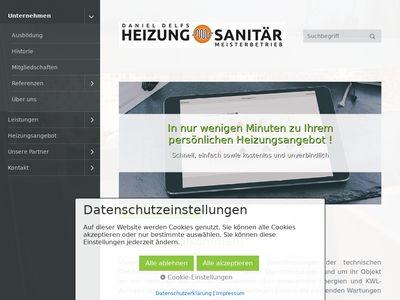 Daniel Delfs GmbH Heizung und Sanitär