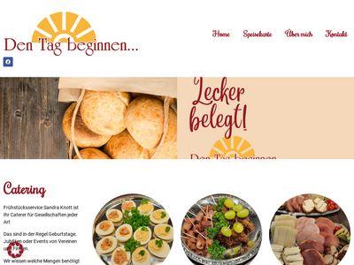 Frühstücksservice Sandra Knott