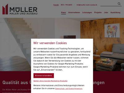 Malerbetrieb Müller Maler und Lackierer
