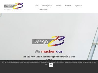 Design 23 Maler-Sanierungsfachbetrieb