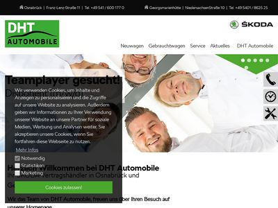 DHT-Automobile Skoda Partner