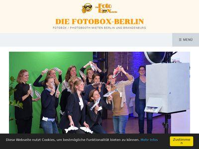 Fotobox und Fotograf