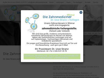 Stranz Uwe Dr. & Kollegen Zahnarztpraxis