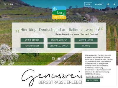 Tourismus Service Bergstrasse e.V.
