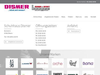 Schuhhaus Dismer GmbH & Co. KG