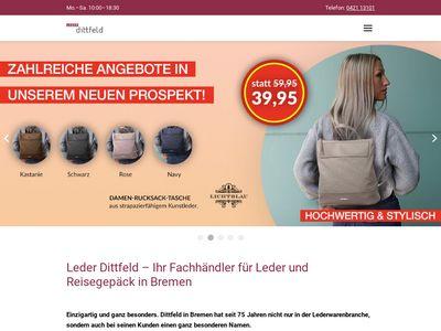 Dittfeld - Mode in Leder