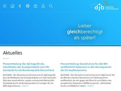 Deutscher Juristinnenbund e.V. - djb
