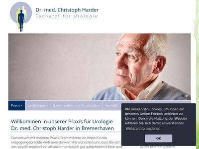 Dr. Christoph Harder Facharzt für Urologie