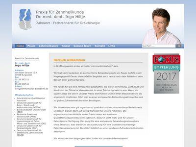 Dr. Ingo Hillje Zahnarzt