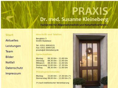 Praxis Dr. med. Susanne Kleineberg