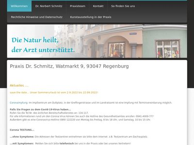 Dr.med. Norbert Schmitz Praktischer Arzt