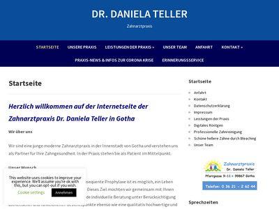 Dr.med.dent. Daniela Teller Zahnärztin
