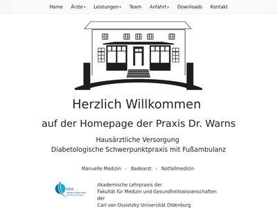 Praxis Dr. Warns Diabetologe - Badearzt