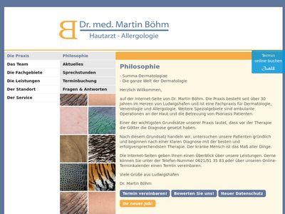 Böhm Wolfgang Dr.med. Hautarztpraxis