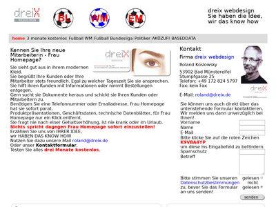 Roland dreix webdesign