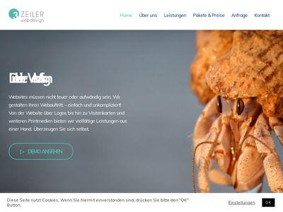 Dreizeiler Webdesign