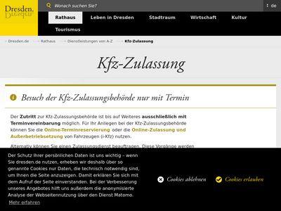 Kfz-Zulassungsbehörde
