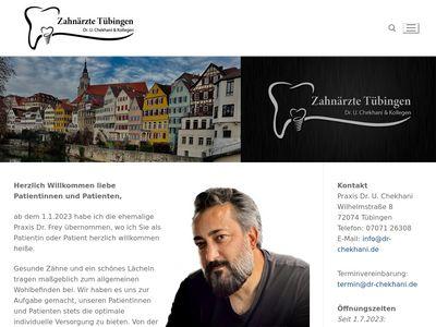 Zahnarzt Tübingen - Dr.Wilfried Frey