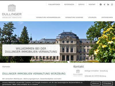 Dullinger Immobilien Verwaltung Würzburg