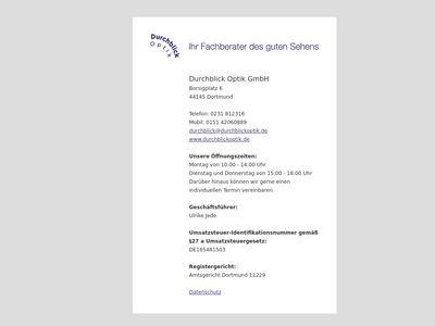 DurchBlick Optik GmbH