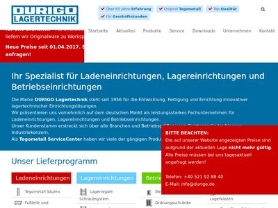 Durigo Lagertechnik Vertriebs GmbH & Co.