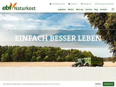 Ebl naturkost Bio Fachmarkt