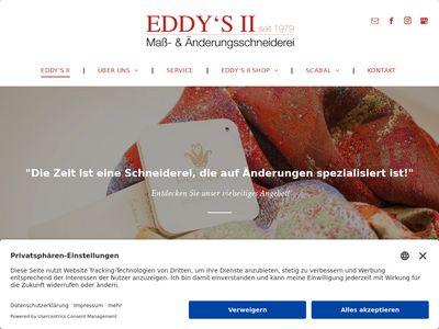 Eddys II Mass- und Änderungsschneiderei
