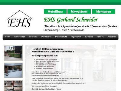 EHS Gerhard Schneider