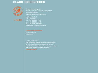 Claus Eichenseher Parkett und Bodenbeläge