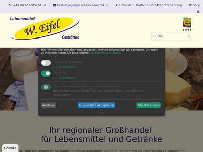 Lebensmittel und Getränke W. Eifel
