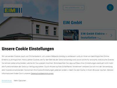 EIM GmbH Elektro-Installation-Montage