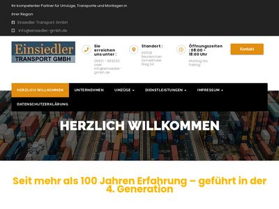 Einsiedler Transport GmbH