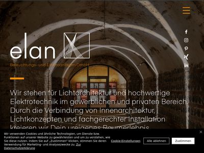 Elan Beleuchtungs- und Elektroanlagen GmbH
