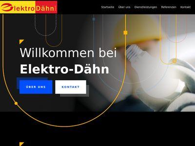 Elektro-Dähn GmbH Elektroinstallateure
