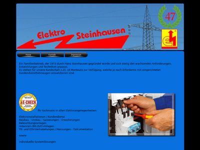 Elektro Steinhausen Inh. H.-G. Steinhausen