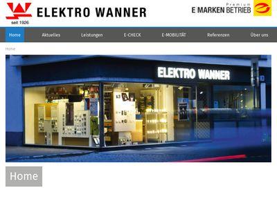 ELEKTRO WANNER Wanner