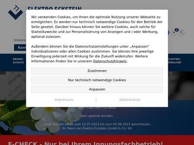 Elektro Eckstein Elektrokundendienst
