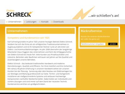 Elektro- Schreck GmbH Elektroinstallation