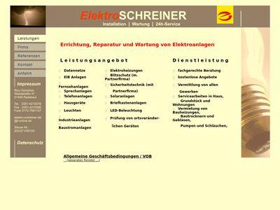 Elektro-Schreiner